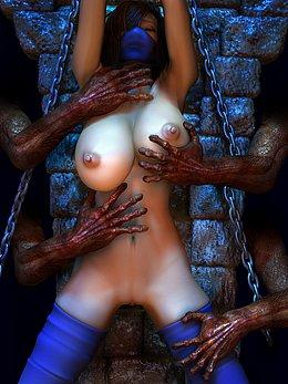 long tentacle hentai